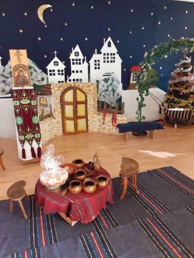 Коледа и Бъдни вечер в 4 ПГ 2019 г. - ДГ 105 Ракета - София