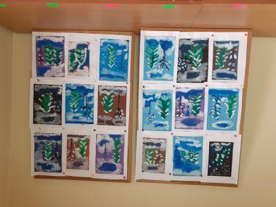 Изработено от децата на 2-б група  - ДГ 105 Ракета - София